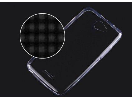 Pouzdro FITTY Ultra Tenké 0,3mm HTC Desire 516 transparentní