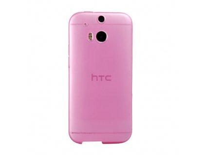 Pouzdro FITTY Ultra Tenké 0,3mm HTC One2 (M8) růžové