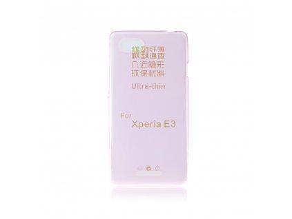 Pouzdro FITTY Ultra Tenké 0,3mm Sony D2203 Xperia E3 růžové