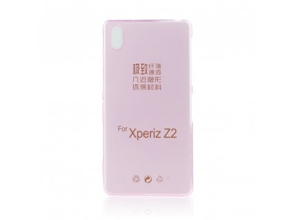 Pouzdro FITTY Ultra Tenké 0,3mm Sony D6503 Xperia Z2 růžové