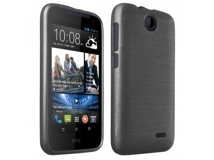 Pouzdro JELLY Case Metalic HTC Desire 310 černé