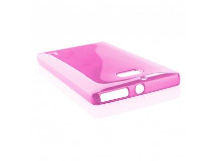 Pouzdro JELLY Case Metalic Nokia 930 Lumia růžové