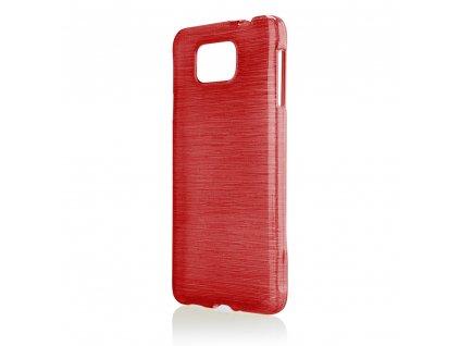Pouzdro JELLY Case Metalic Samsung G850 Galaxy Alpha červené