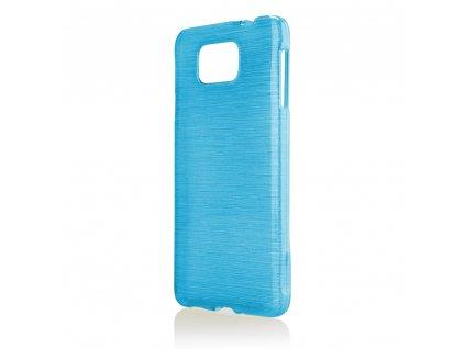 Pouzdro JELLY Case Metalic Samsung G850 Galaxy Alpha modré