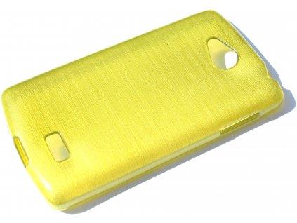 Pouzdro JELLY Case Metalic LG F60 (D390N) zelené