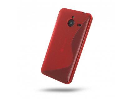 S Case pouzdro Microsoft Lumia 640 XL red / červené