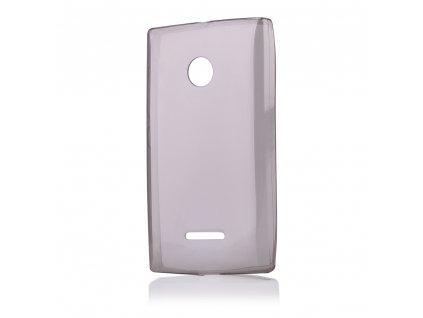 Pouzdro FITTY Ultra Tenké 0,3mm Microsoft Lumia 435 černé