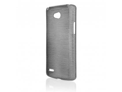 Pouzdro JELLY Case Metalic LG L80 (D373) černé