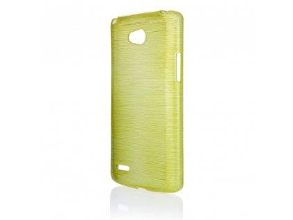 Pouzdro JELLY Case Metalic LG L80 (D373) zelené