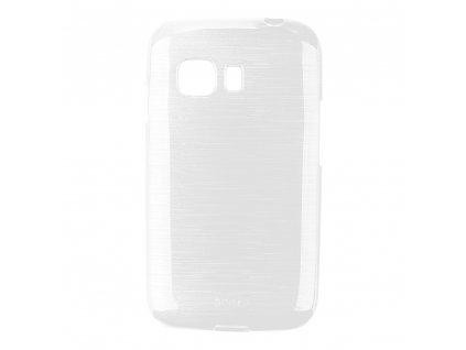 Pouzdro JELLY Case Metalic Samsung G130 Galaxy Young2 bílé