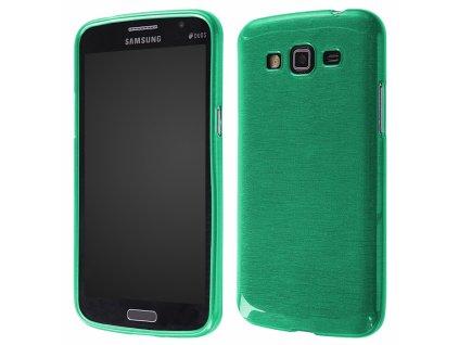 Pouzdro JELLY Case Metalic Samsung G7105 Galaxy Grand2 zelené