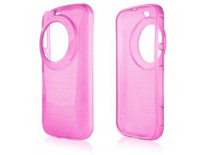 Pouzdro JELLY Case Metalic Samsung C115 Galaxy K růžové