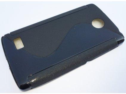 S Case pouzdro LG H220, Joy black / černé