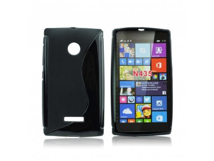 S Case pouzdro Microsoft Lumia 435 black / černé