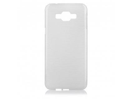 Pouzdro JELLY Case Metalic Samsung A800 Galaxy A8 bílé