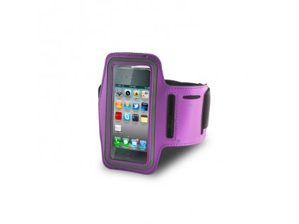 Armband bicepsové pouzdro Samsung i9300 Galaxy S3, i9505 Galaxy S4 purple