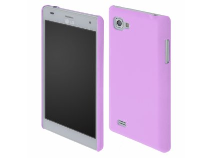 Coby Exclusive kryt LG P880 Optimus 4X HD purple / fialový