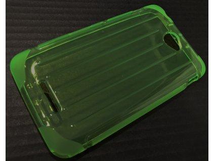 Pouzdro CoverLine Sony Xperia E4, E2105 zelené