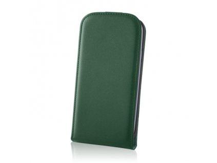 SLIGO DeLuxe vyklápěcí pouzdro Huawei P8 (GRA-L09) zelené