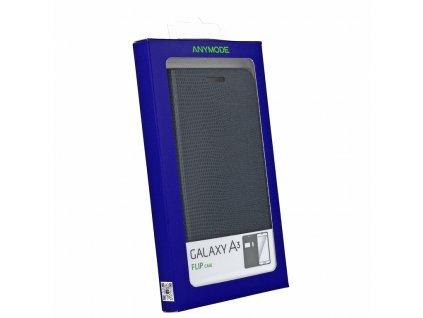 SAMSUNG Anymode Flip Case pouzdro A300 Galaxy A3 Black
