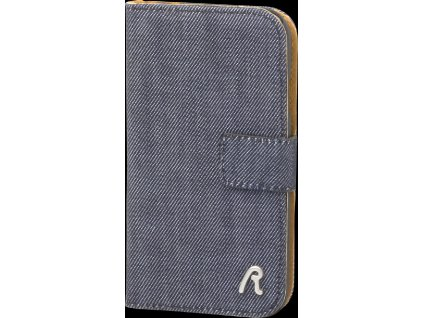 REPLAY booklet pouzdro i9500, i9505 Galaxy S4 denim design