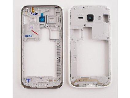 SAMSUNG J100 Galaxy J1 střední kryt white / bílý