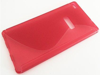 S Case pouzdro Huawei P8 (GRA-L09) červené