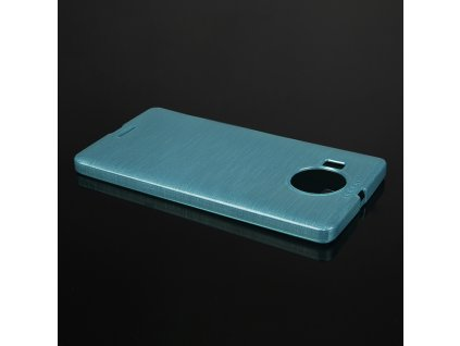 Pouzdro JELLY Case Metalic Microsoft Lumia 950 XL modré