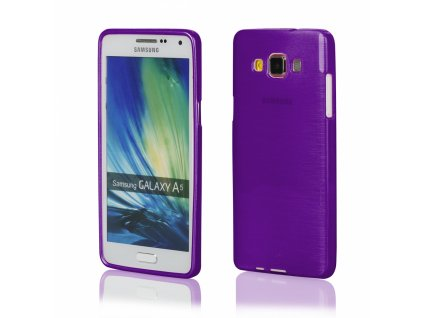 Pouzdro JELLY Case Metalic Samsung A500 Galaxy A5 fialové