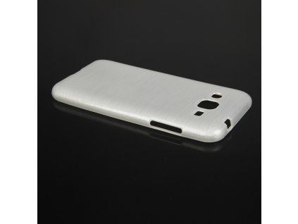 Pouzdro JELLY Case Metalic Samsung J200 Galaxy J2 bílé