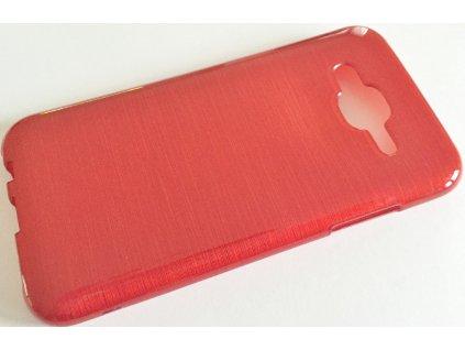 Pouzdro JELLY Case Metalic Samsung J500 Galaxy J5 červené