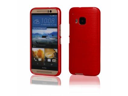 Pouzdro JELLY Case Metalic HTC One 3 (M9) červené