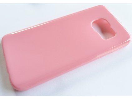TPU pouzdro Samsung G930 Galaxy S7 pink / růžové