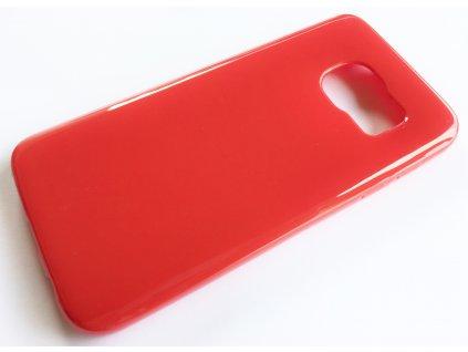 TPU pouzdro Samsung G930 Galaxy S7 red / červené