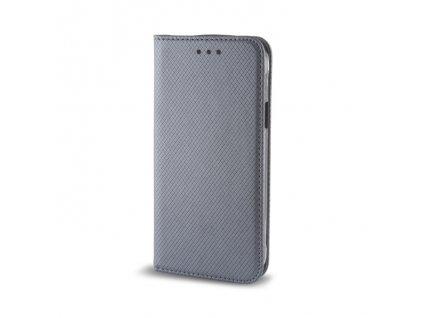 Pouzdro Smart Magnet pro LG K8 šedé