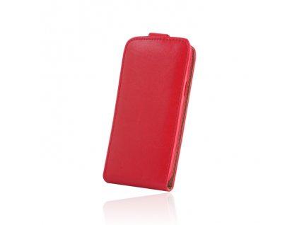 SLIGO Plus vyklápěcí pouzdro Microsoft Lumia 550 červené