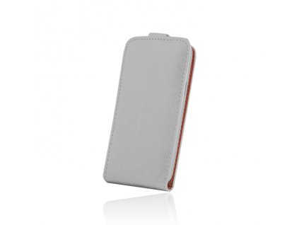 SLIGO Plus vyklápěcí pouzdro Microsoft Lumia 550 bílé