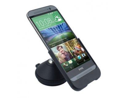 HTC D190 držák + nabíječka pro HTC One M8 (blister)