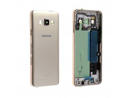 SAMSUNG A300 Galaxy A3 kryt gold / zlatý