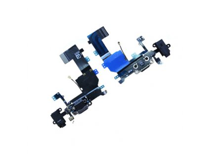 Flex kabel pro iPhone 5C systémový konektor black