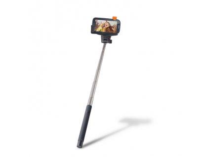 Selfie tyč Setty s bluetooth ovládáním black / černá