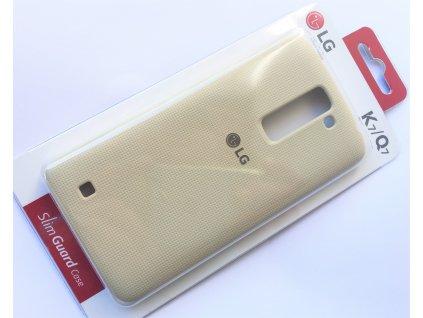 LG CSV-150 pouzdro pro LG K7 / Q7 white / bílé (blister)