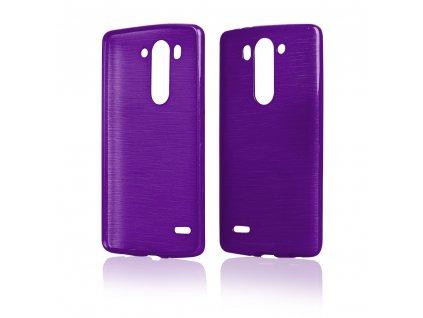 Pouzdro JELLY Case Metalic LG G3 Mini (D722) fialové