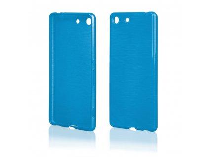 Pouzdro JELLY Case Metalic Sony E5603, Xperia M5 modré