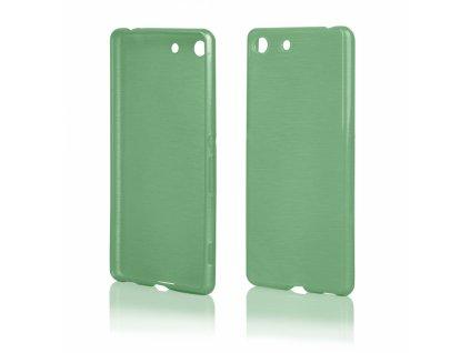 Pouzdro JELLY Case Metalic Sony E5603, Xperia M5 zelené