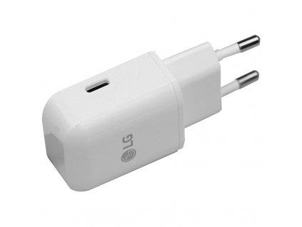 LG MCS-N04ER nabíječka s výstupem micro USB-C (bulk) 3A/5V LG G5 / Nexus 5
