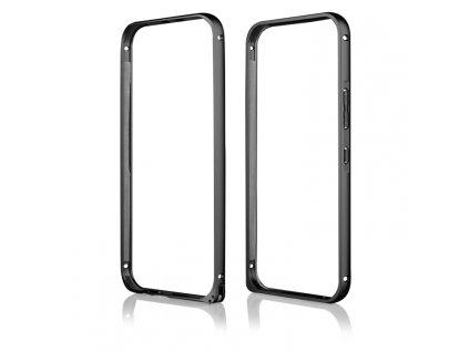 Pouzdro Bumper ALU METAL hliníkový rámeček HTC ONE M9 černý