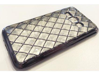 Pouzdro 3D GRID Samsung J120 Galaxy J1(2016) stříbrné