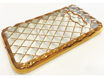 Pouzdro 3D GRID Samsung J120 Galaxy J1(2016) zlaté