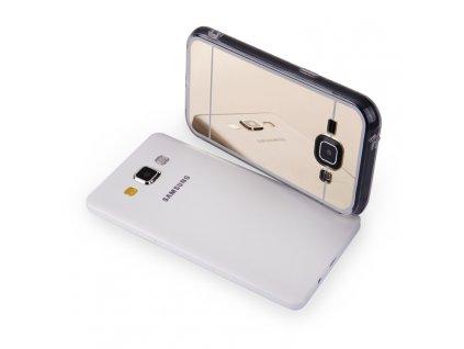 MIRROR CASE pouzdro Samsung J100 Galaxy J1 gold / zlaté